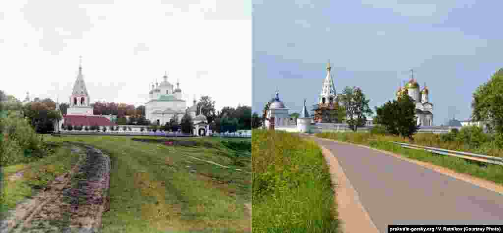 Another view of the Ferapontov Monastery. 1911/2012