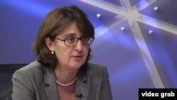 Майя Панджикидзе, министр иностранных дел Грузии. Прага, 15 января 2013 года.