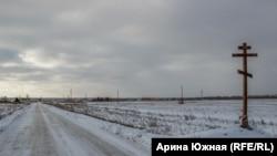Омская область, деревня Луговая