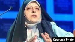 معصومه ابتکار، رئیس سازمان حفاظت محیط زیست ایران