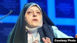 Masoumeh Ebtaker is pictured here in an undated photo (file photo)