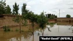 Наводнение в Фархорском районе