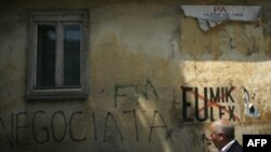 Priština, grafiti