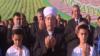 Türkmenistanlylar hudaýdan rysgal, gowy hasyl bermegini dileýär. Türkmen TW-sinden alnan arhiw suraty.