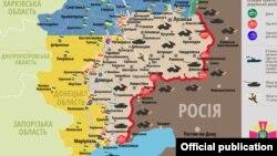 Ситуація в зоні бойових дій на Донбасі, 31 січня 2017