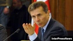 Gjeorgji - Kryeministri i Gjeorgjisë Bidzina Ivanishvili gjatë një konference në Tbilisi
