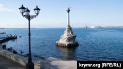 Севастополь, пам'ятник затопленим кораблям