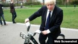 Лондон ҳокими Борис Жонсон.