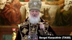 Патріарх Московської православної церкви Кирило .1 січня 2020 року
