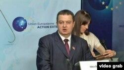 Српскиот премиер Ивица Дачиќ