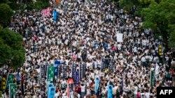 Протестите во Хонг Конг