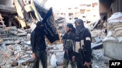 Сириядагы террордук топтун мүчөлөрү