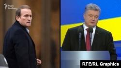 У 2018-му Петро Порошенко так пояснював причини, чому Медведчук став головним переговірником: «Найбільш ефективним виявився Віктор Медведчук... Тому що рішення про звільнення приймає безпосередньо Путін»
