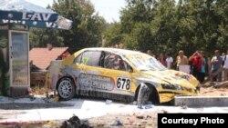 Auto kojim je ubijeno troje posetilaca trke na Tari