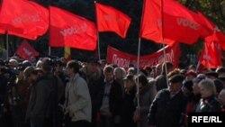Президенттик шайлоону эки ирээт бойкоттогон Коммунистик партиянын Молдовада колдоочулары бар, бирок азайууда.