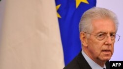 Kryeministri i Italisë, Mario Monti.