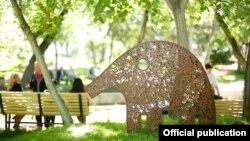 Парк влюбленных в Ереване (иллюстративное фото