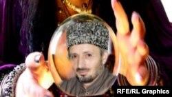 Дагестанан муфтий Абдулаев Ахьмад (коллаж)
