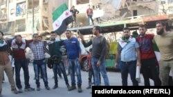 Правозащитная акция в Алеппо, 22 октября 2016