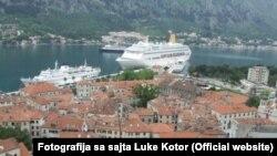 Kruzer u Luci Kotor