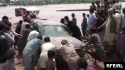 File photo of deadly floods in northern Pakistan.