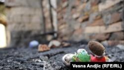 Beograd: Požar u romskom naselju