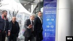 Лидерот на ДУИ, Али Ахмети.