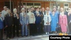 Полтавский с другими ветеранами