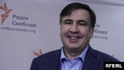 Екс-президент Грузії, колишній голова Одеської ОДА Міхеїл Саакашвілі