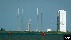 Pamje nga qendra kozmike Cape Canaveral në Shtetet e Bashkuara
