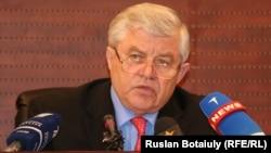 Владимир Божко, парламент мәжілісінің вице-спикері.