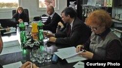 Средба помеѓу преставници од Министерството за животна средина и претставници на Југозападниот плански регион за изградба на депонија.