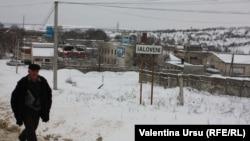 Peisaj de iarnă la Ialoveni