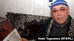 Бұрынғы Қазақ ССР КГБ төрағасы Зақаш Камалиденов. Алматы, 17 қаңтар 2012 жыл.