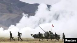 Киргизия - Военные учения ОДКБ под Бишкеком, 21 сентября 2011 г.