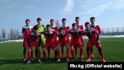 Кыргызстандын футбол боюнча жаштар курама командасы (U-19). 7-март, 2017-ж.