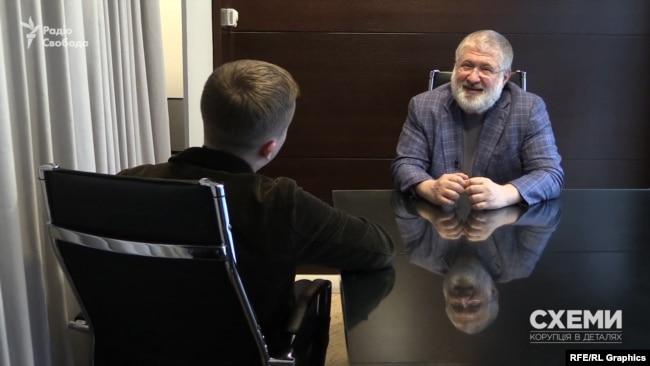 Коломойський на питання, чи планує він впливати на Зеленського: якщо він вирішить, що потрібно у мене щось запитати, я йому можу дати пораду