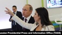 Владимир Путин и Маргарита Симоньян. Архивное фото