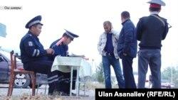 Бишкек Жол кайгуул кызматкерлери