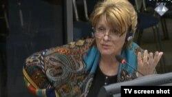 Svetlana Radovanović tokom svjedočenja