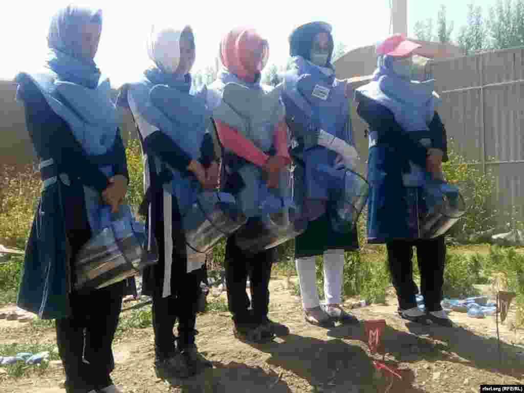 The Danish Demining Group is seeking to continue its training program, giving more women the opportunity to do necessary work.