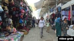 Открытый рынок в Душанбе