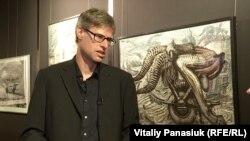 Марко Вітциг, куратор виставки Г.Р. Ґіґера в Києві, 2019