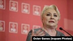Viorica Dăncilă este propusă de mai mulți lideri PSD să fie președintele plin al partidului și după Congres.