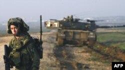 استقرار واحدهای زمینی اسرائیل در نزدیکی نوار غزه. (عکس: Afp)