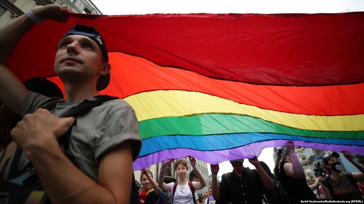 В центре Одессы митинговали ЛГБТ и поборники «традиционных ценностей»