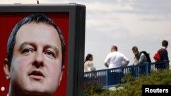 Предвыборный плакат Ивицы Дачича