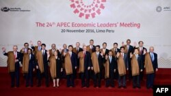 Pjesëmarrësit e samitit APEC në Peru