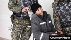 Заключенный Батырхан Жусипов, находящийся в исправительном учреждении ИЧ-167/9 Южно-Казахстанской области. Фото предоставлено его родственниками.