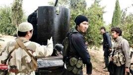 """Сирияға Орталық Азиядан барды деген """"жиһадшылар"""". Сурет Facebook әлеуметтік желісінен алынды."""